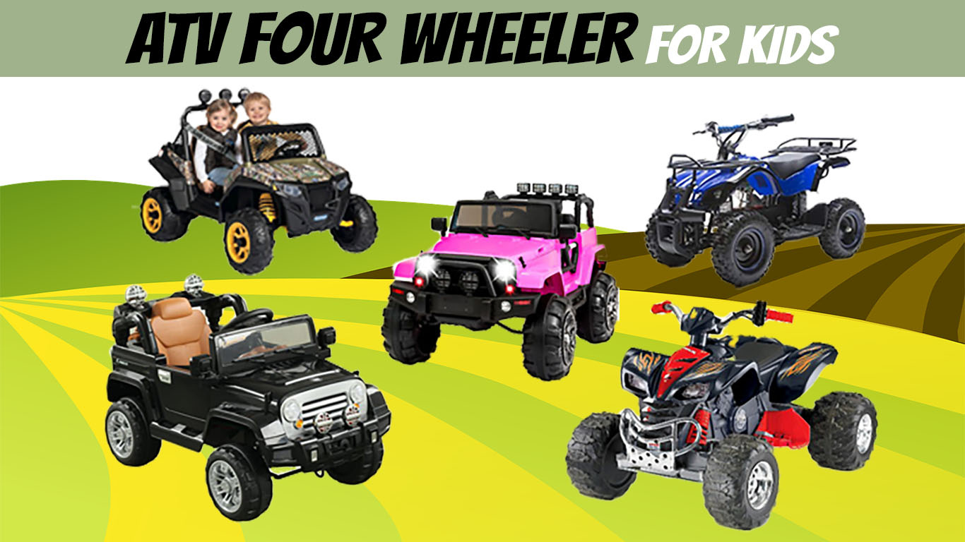 Best Kids 4 Wheeler 2019 Review - Gas Powered & Electric
