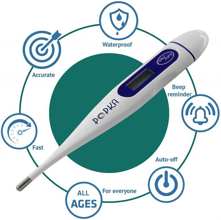 POPKA Digital Basal Thermometer